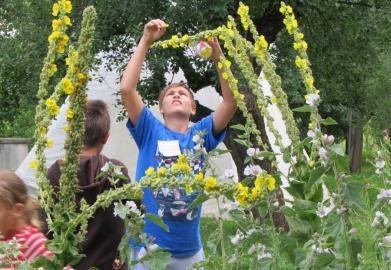 Zahradní slavnost v Hostětíně